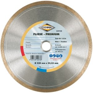 230mm Fliese Premium 22,23mm 1,7 x 7mm mit Ring
