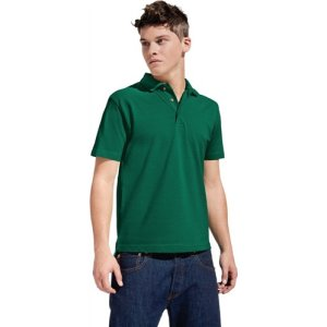 Men´s Heavy Polo Gr.M royal 100%Baumwolle, 220g/m