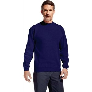 Men#s Sweater 80/20 Gr.L royal 80% Baumwolle, 20% Polyester, 280g/m