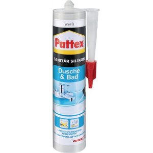 Pattex Dusche& Bad Silikon transparent300ML bis +150 grad