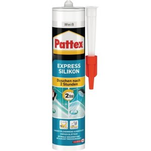 LOCTITE Pattex Express Silikon transparent 300ml -40 bis +150 grad PFEST