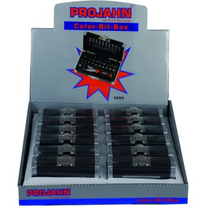 Projahn Display 12xBit-Box 33-tlg. 4095 409512