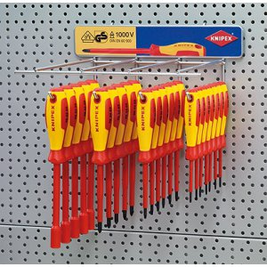 Knipex Schraubendreher-Display leer 00 19 34 6