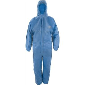 Asatex Schutzoverall Gr.XL CoverTex C-1 blau Kat.III COVERSTAR Typ 5/6 C-3