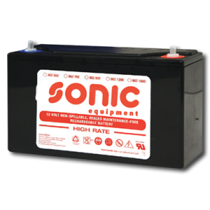 Sonic Batterie 12V -1600A (255x170x195mm) für Sonic Mobile 4811212