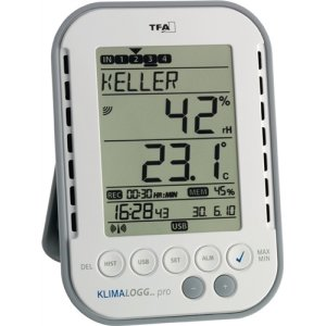 TFA Thermo-Hygrometer digital für innen H.137xB.98xT.26mm 303039