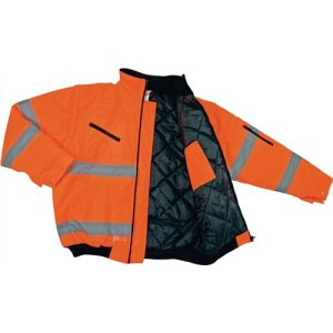 Asatex Warnschutz-Pilotenjacke Gr.L orange EN20471 Kl.2 174OA