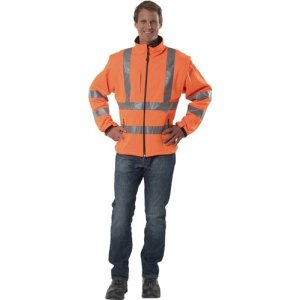 Warnschutz-Softshelljacke orange EN20471 Gr.XXL