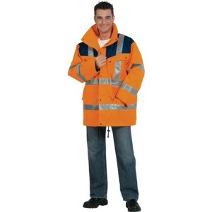 NORDWEST Warnschutzparka Gr.XXXL orange/marine EN20471/343 Kl.2