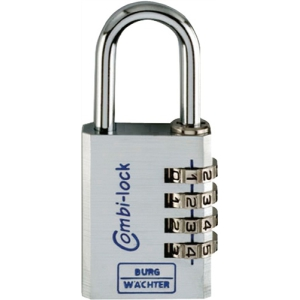 Zahlenschloss verstellb.Combi Lock 90 Chromo Bügel-H.27mm Bügel-S.5mm Chrom
