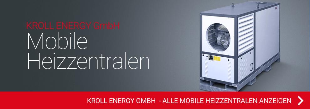 KROLL ENERGY GmbH - Mobile Heizzentralen