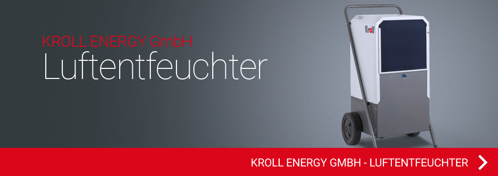 KROLL ENERGY GmbH - Luftentfeuchter