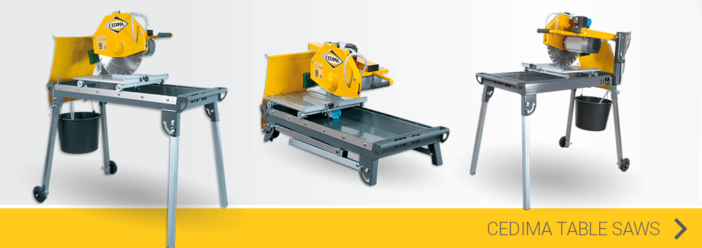View the Cedima table saws