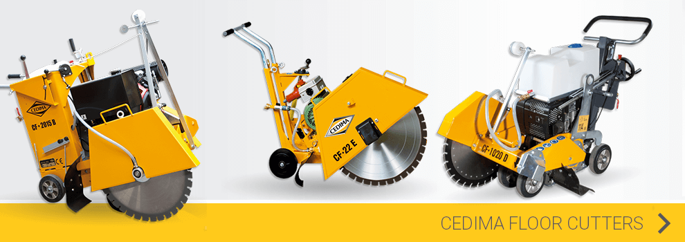 View the Cedima floor cutters