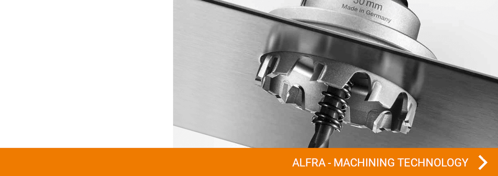View all ALFRA articles in the field of machining technology