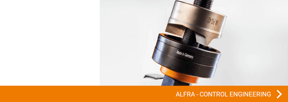 View all ALFRA articles in the area of punching, control cabinet & control engineering