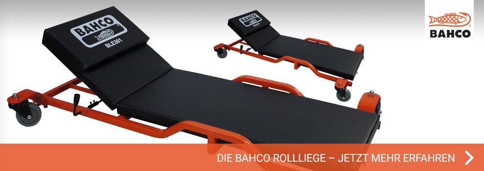 Die BAHCO Rollliege – Jetzt Mehr erfahren