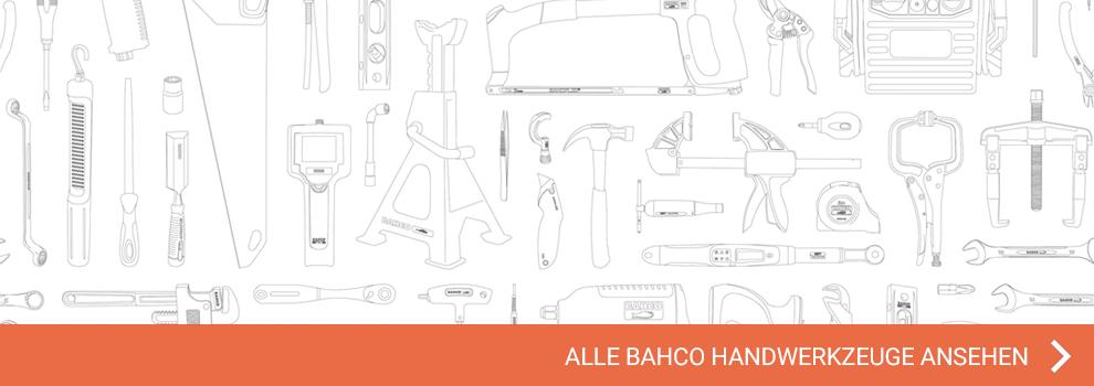 Alle Handwerkzeuge auf einen Blick