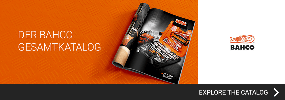 View the BAHCO catalog