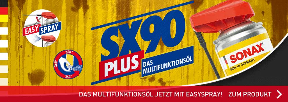 Das bewährte Multifunktionsöl SX90 von Sonax