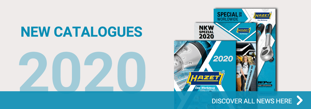 Click here for the latest Hazet catalogues 2019