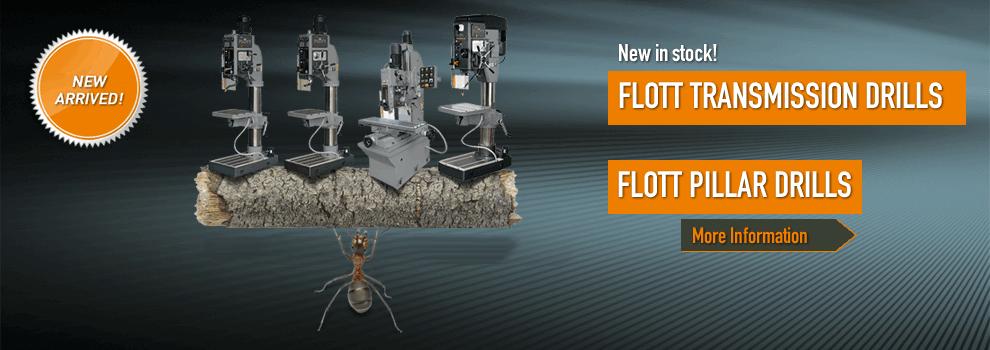 New transmission drills pillardrill by Flott