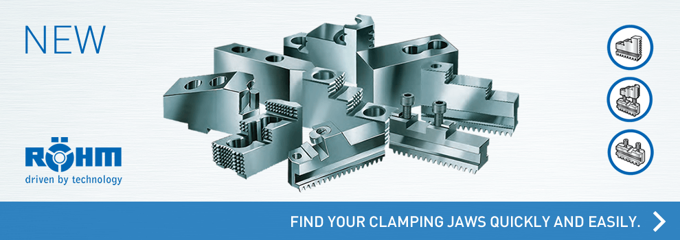 RÖHM - Find your clamping jaws quickly and easily