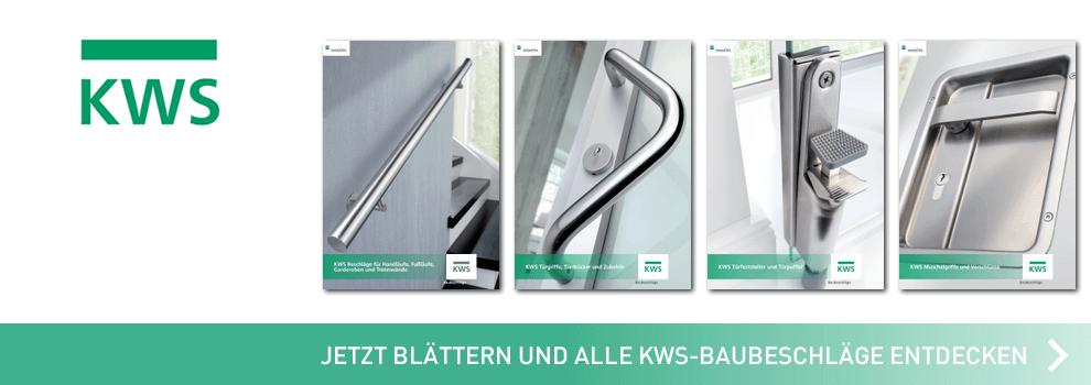 Jetzt alle Baubeschlag Kataloge von KWS ansehen