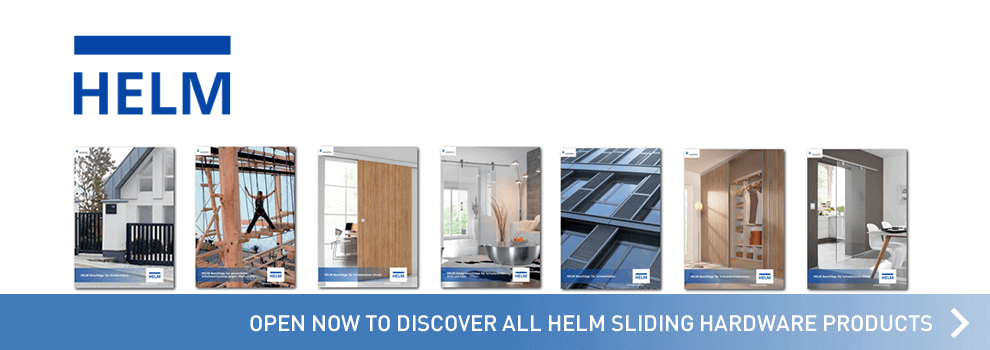 View now all sliding hardware catalogs by HELM WOELM
