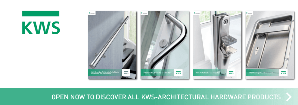 View now all Architectural Hardware catalogs by KWS