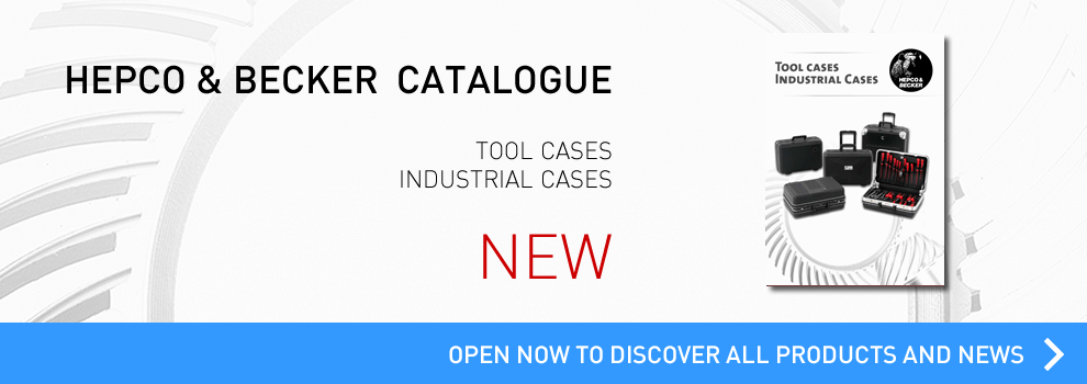 Go t i the new catalogue  tool case by  Hepco and Becker