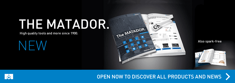 Go to the new catalog of Matador products