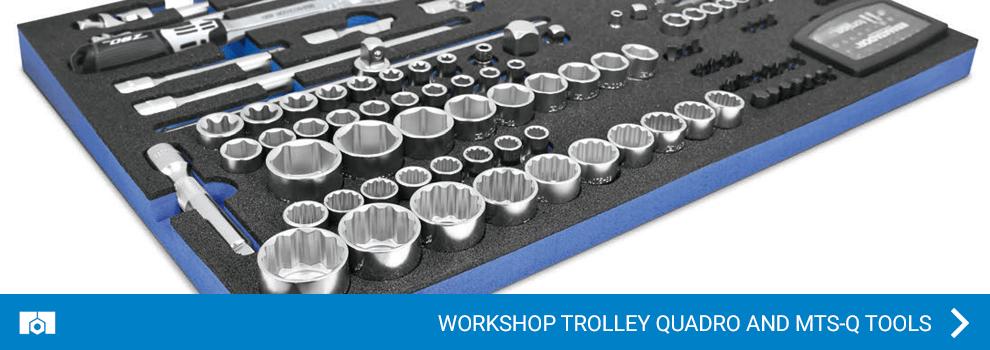 Workshop trolley QUADRO and MTS-Q Tools