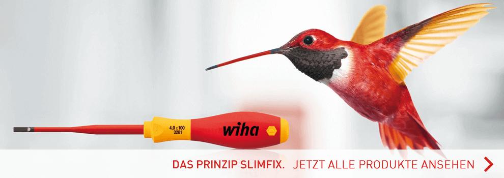 Hier geht es zu allen SlimFix Produkten von wiha