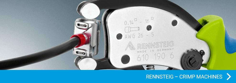 Rennsteig - Crimp machines