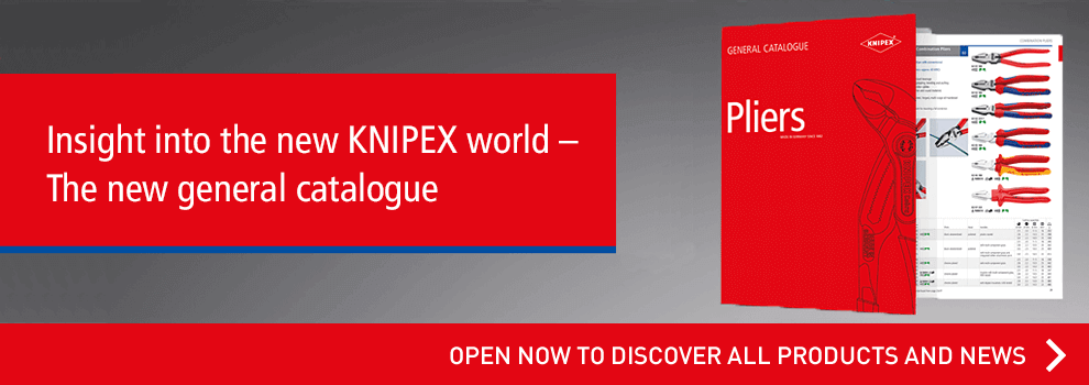 The new catalogue by Knipex