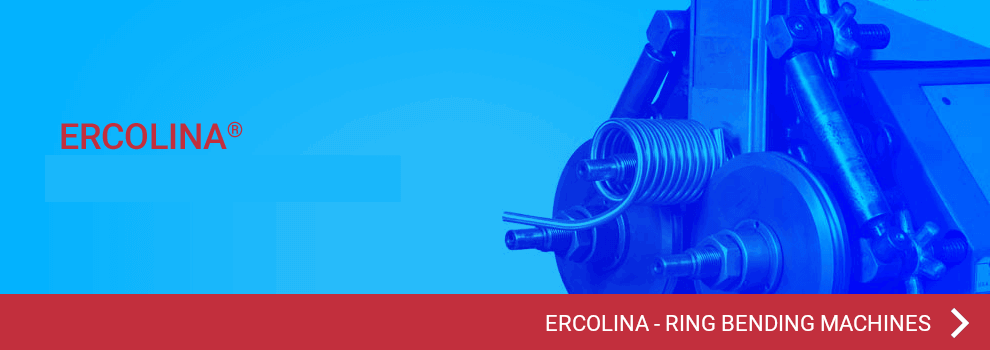 View all Ercolina ring bending machines