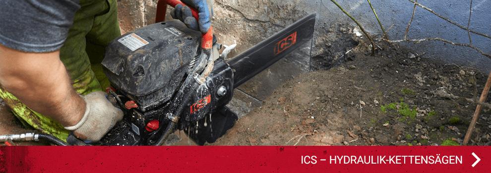 ICS – Hydraulik-Kettensägen