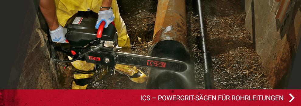 PowerGrit® - Sägen für Rohrleitungen