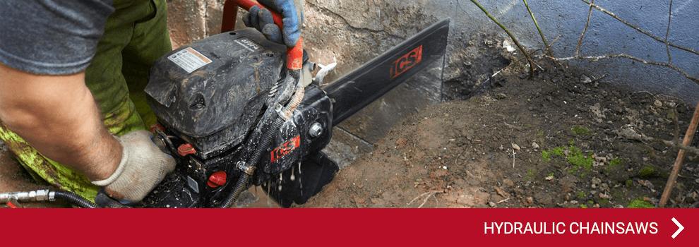 ICS - hydraulic chainsaws