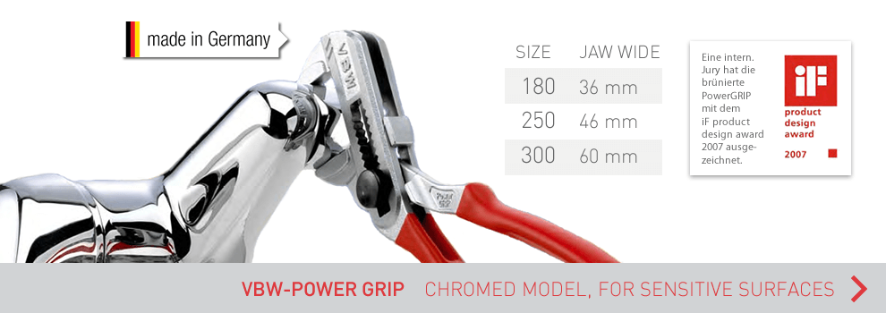 View now all variants of the VBW PowerGrip