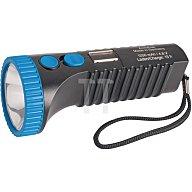 Akkuleuchte Power Lux LED blau/schwarz ACCULUX Leucht-W.1000m 422083