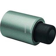 DENI Anschlagpuffer Leichtmetall silber lack. für Türen bis 200kg 3874 0110 22