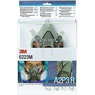 Atemschutz-Halbmasken-Set 6223M A2P3R 9tlg. Inhalt:1x6200M 2x6055 4x5935 2x501