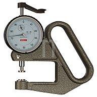 Dickenmessgerät J50 10mm Ablesung 0,01mm flach 10mm m.Werkskalibrierung