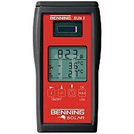 Einstrahlungs-/Temperaturmessgerät z.Messung der solaren Einstrahl.Benning SUN 2 50420