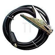 JAS welding Erdungsklemme 300A 5m konfektioniert Kupferkabel H01N2-D Ø=16mm2 m. Stecker KS25 1501152654
