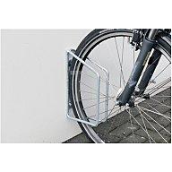 WSM Fahrradklemmbügel 1er 45Grad verz. H.350xB.68xT.220mm Wandbefestigung 105000033