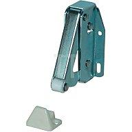 BMB Federschnapper TL 20/35,5x54,7mm Stahl vernickelt mit Gegenstück Kunststoff 4148271