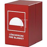 Feuerlöschdeckenbehälter 200x300x240mm a.Stahl rot Jutec JT5000LB